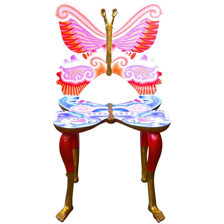 """Pedro Friedeberg """"Butterfly"""" Chair"""