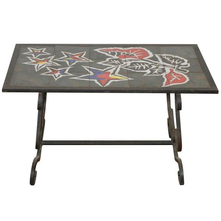 Jean Lurcat Tile Top Table 1