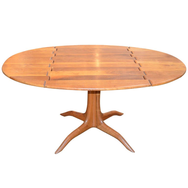 Sam Maloof Spider Leg Drop-Leaf Table