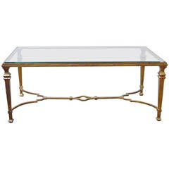 Maison Ramsay Gilded Iron Cocktail Table