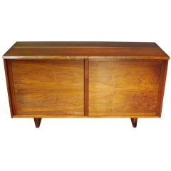 George Nakashima Free Edge Sliding Door Credenza