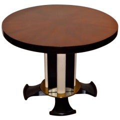 Dominique Occasional Table with Shagreen Accents