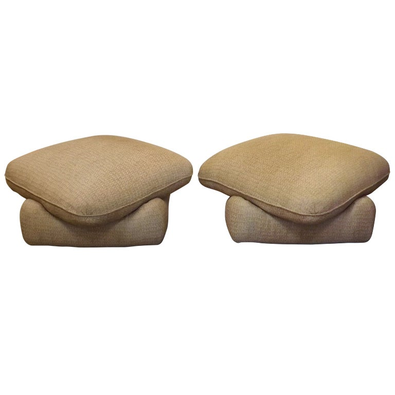 Angelo Donghia Poufs At 1stdibs