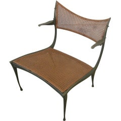 Dan Johnson Bronze Gazelle Lounge Chair