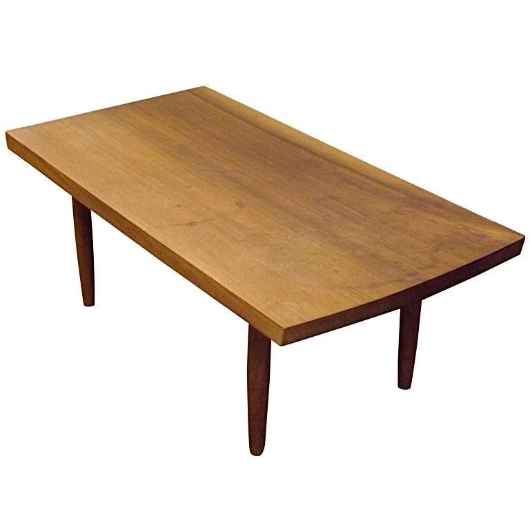 George Nakashima Slab Occasional Table At 1stdibs
