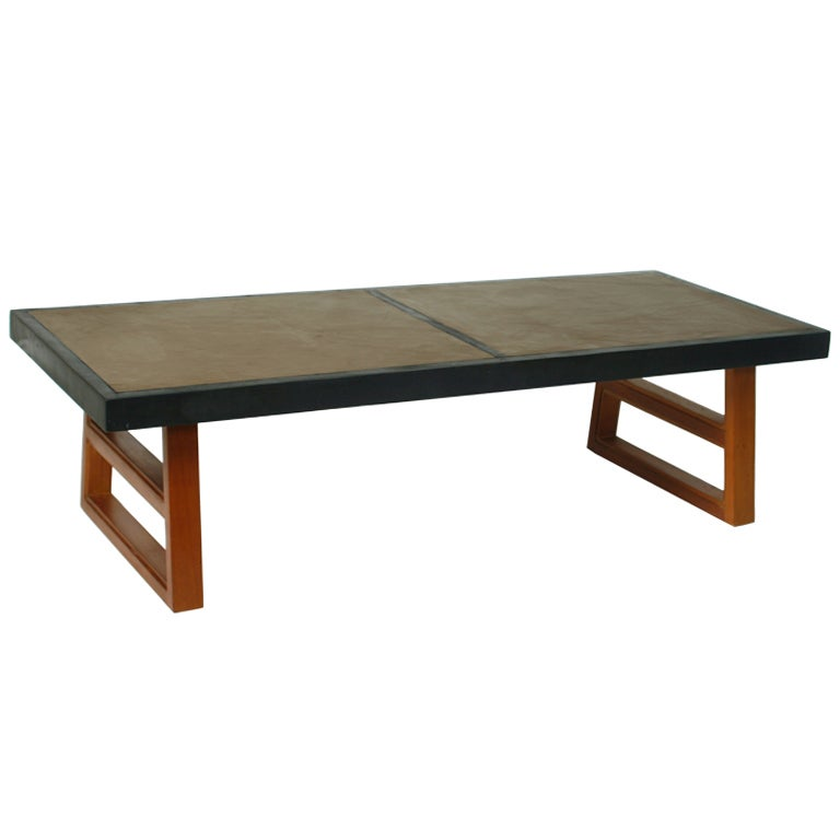 Rustic Modern Coffee Table At 1stdibs