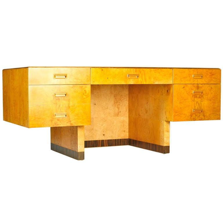 Henredon Scene Two Desk at 1stdibs