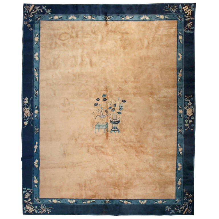 Chinese Rug Dealers: Antique Chinese Peking Rug At 1stdibs