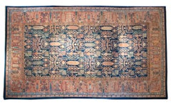 Late 19th Century Indian Agra Carpet