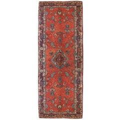 Early 20th Century Persian Sarouk Carpet Runner