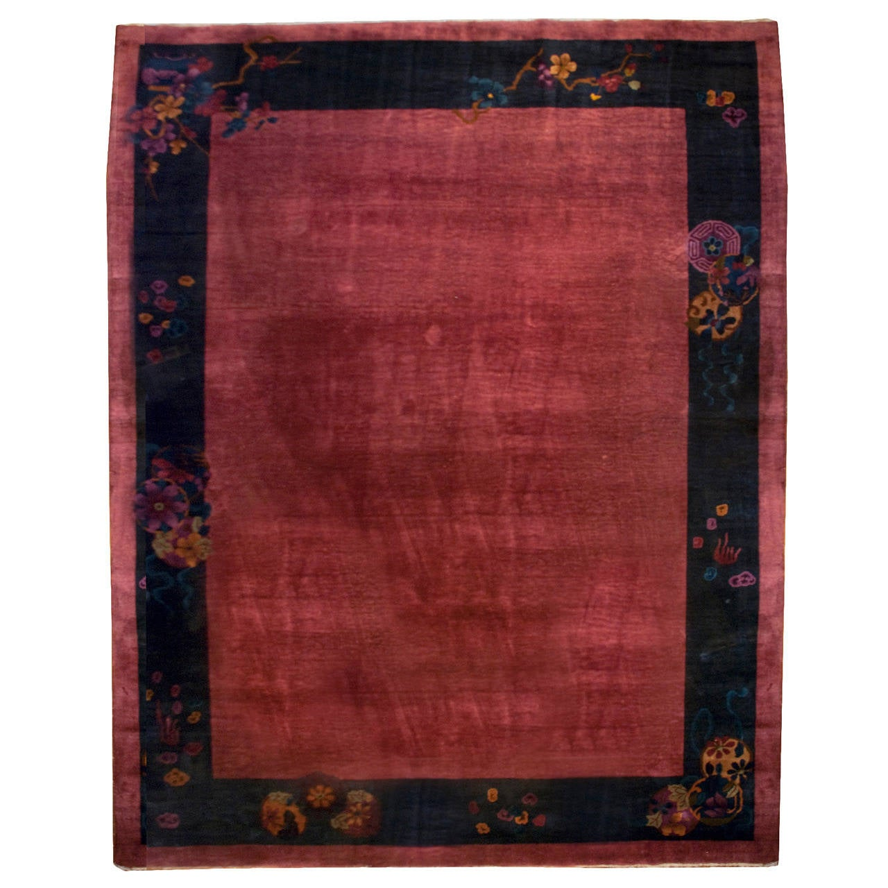 Chinese Art Deco Rug At 1stdibs