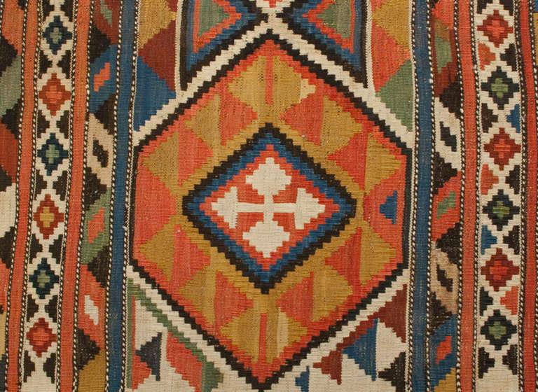 antique shirvan kilim rug at 1stdibs