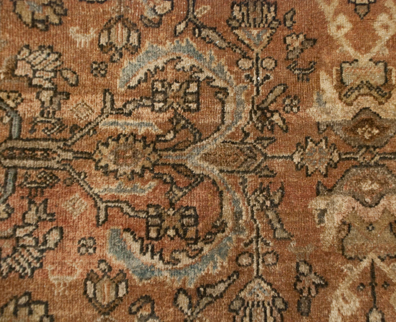 Early 20th Century Mahal Sultanabad Rug For Sale At 1stdibs