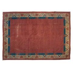 "19th Century Chinese Peking Carpet, 7'x 8'8"""