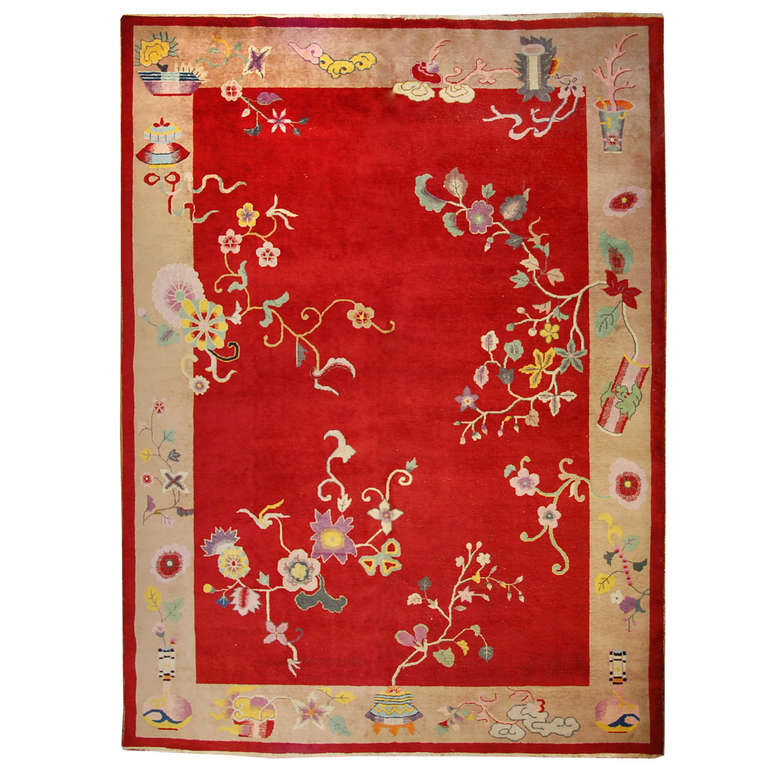 Nichols Chinese Art Deco Rug For Sale At 1stdibs