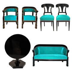 Suite of Austrian Biedermeier Furniture
