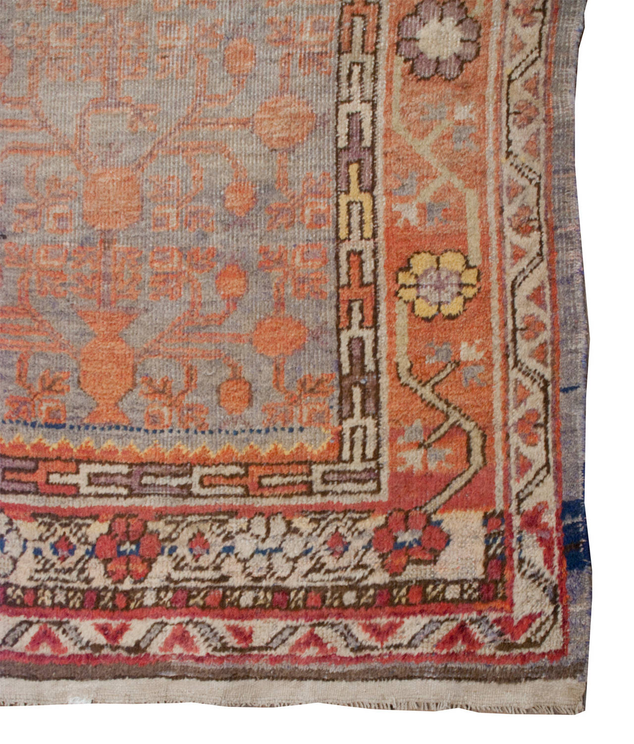 Khotan Early 20th Century Samarkand Rug For Sale