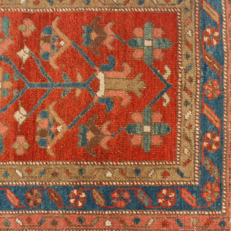 Early 20th Century Heriz Carpet Runner 2 5 Quot X 9 At 1stdibs