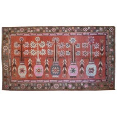 Early 20th Century Samarkand Carpet