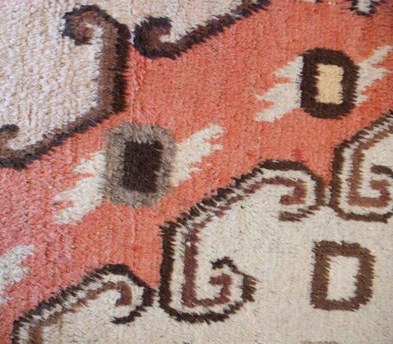 Early 20th Century Samarkand Carpet For Sale 1
