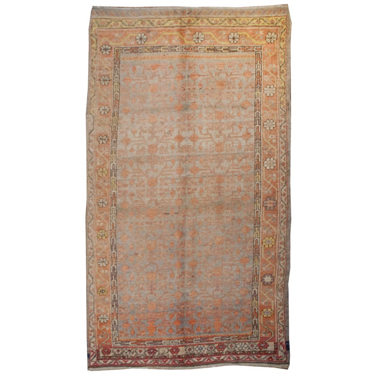 Early 20th Century Samarkand Rug For Sale
