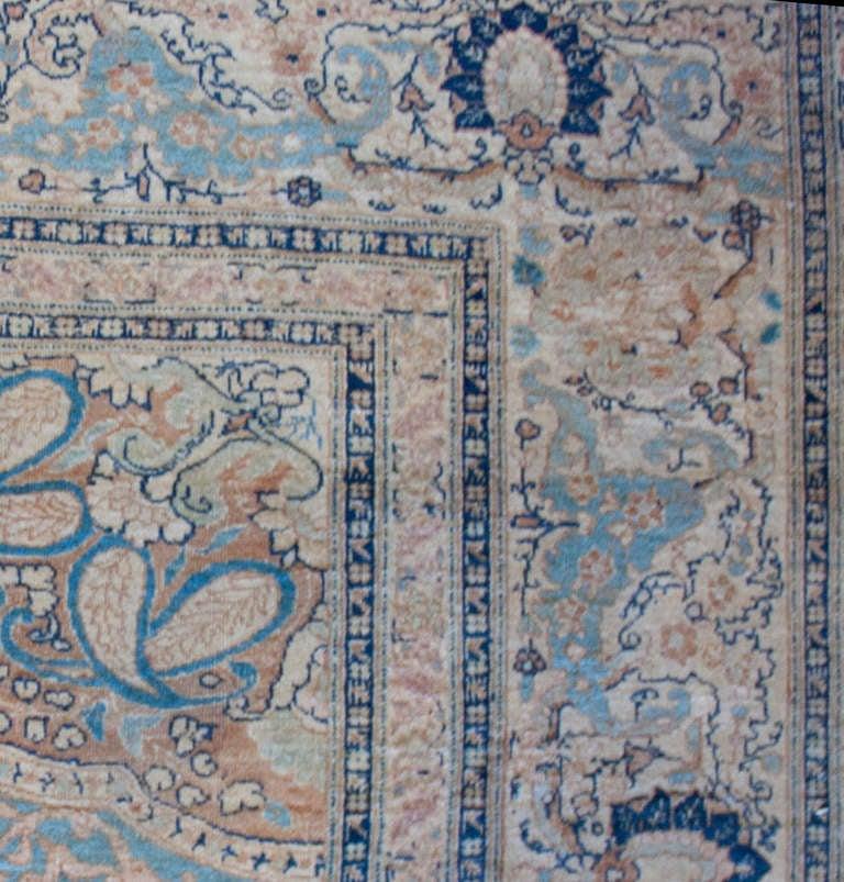 19th Century Persian Haji Jalili Tabriz Rug At 1stdibs