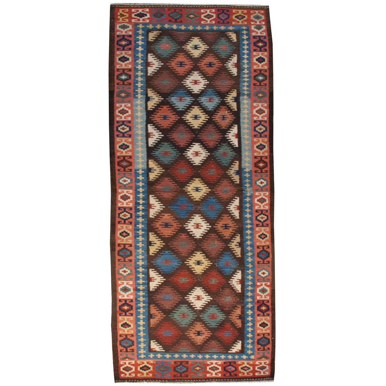Early 20th Century Harseen Kilim Runner