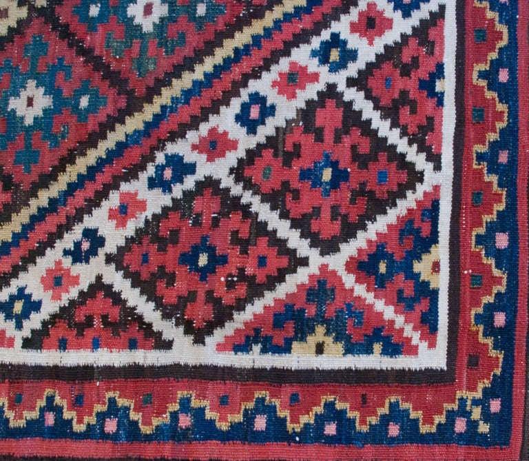 Antique Bakhtiari Kilim Rug For Sale At 1stdibs