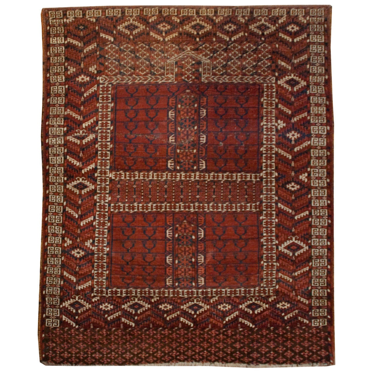 Prayer Rug Dimensions: 19th Century Turkmen Prayer Rug For Sale At 1stdibs
