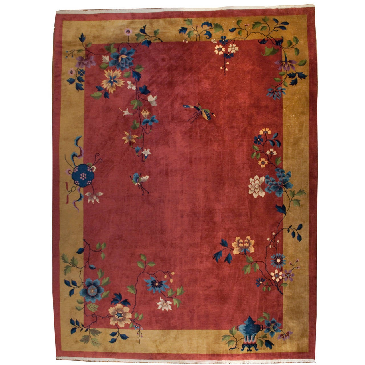 Chinese art deco rug for sale at 1stdibs for Deco rugs carpet