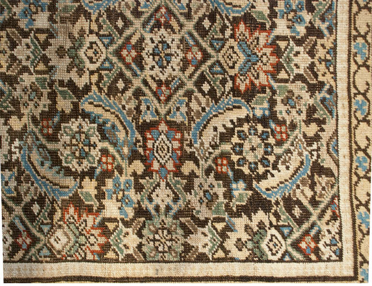 19th Century Karabagh Herati Rug At 1stdibs