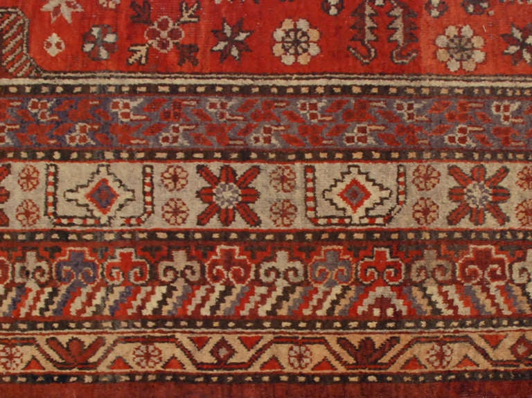 Chinese Early 20th Century Samarkand Rug For Sale