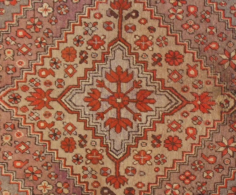 Mid-20th Century Early 20th Century Samarkand Rug For Sale