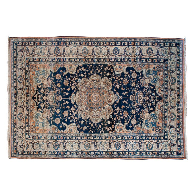 19th Century Tabriz Carpet For Sale at 1stdibs