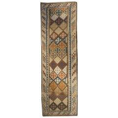 Early 20th Century Shiraz Kilim Runner