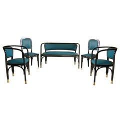 Award Winner Gustav Siegel Bentwood Suite of Furniture