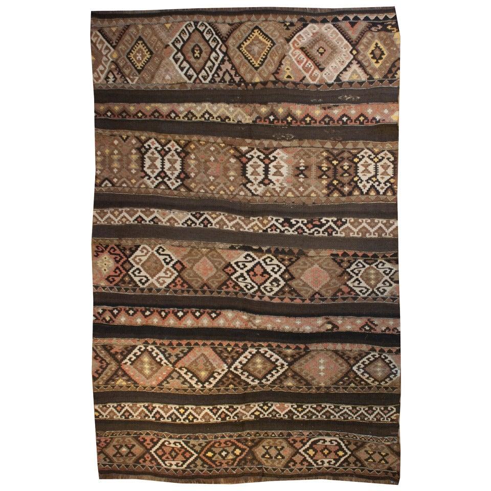 Early 20th Century Azeri Kilim Rug