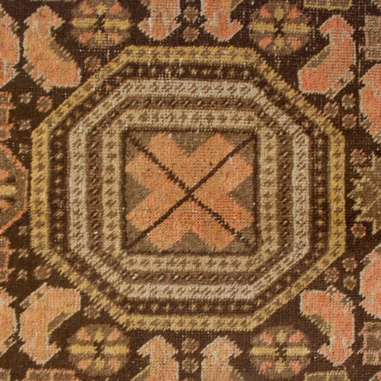 Turkestan 19th Century Central Asian Khotan Carpet For Sale