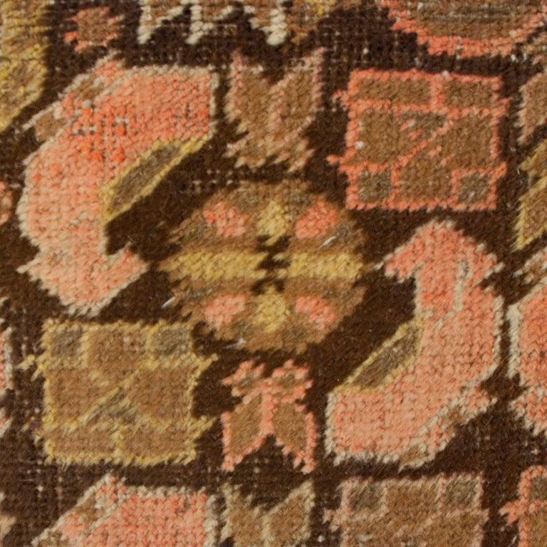 Vegetable Dyed 19th Century Central Asian Khotan Carpet For Sale