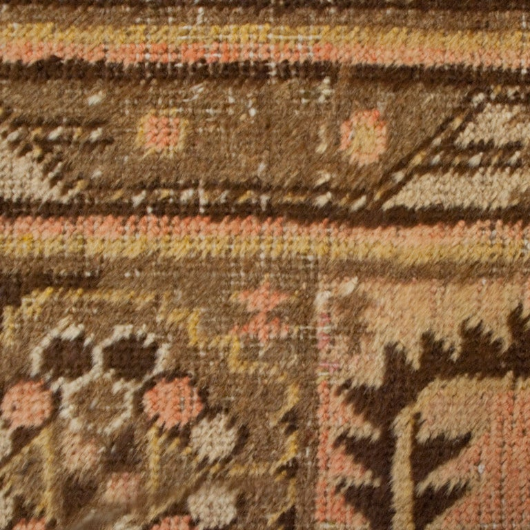 19th Century Central Asian Khotan Carpet In Excellent Condition For Sale In Chicago, IL