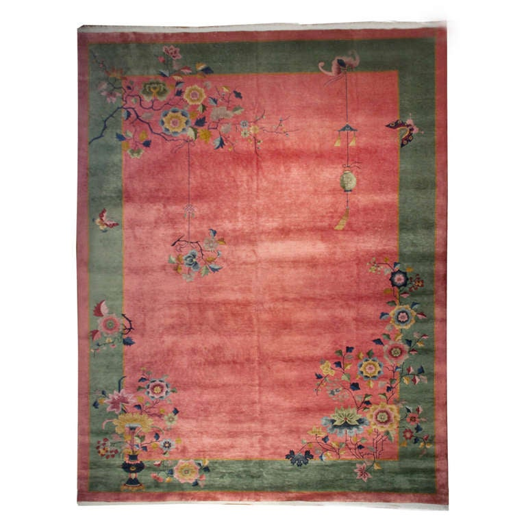 Chinese Art Deco Rug For