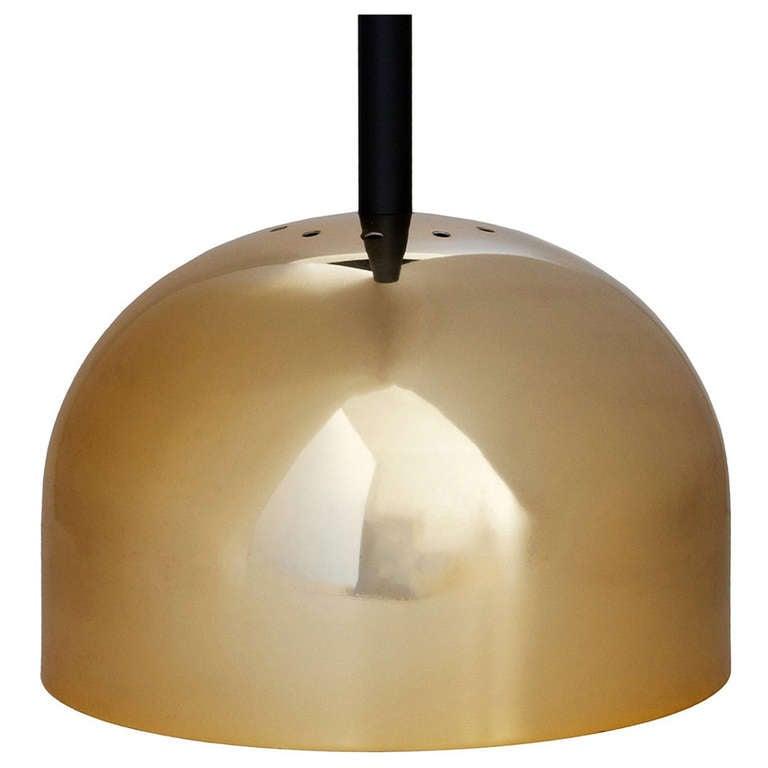 Brass Pendant Lamp by Stilnovo 1