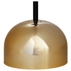Brass Pendant Lamp by Stilnovo