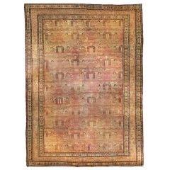 "19th Century Kirmanshah ""Willow Tree"" Carpet"