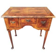 Walnut Queen Anne Lowboy or Dressing Table
