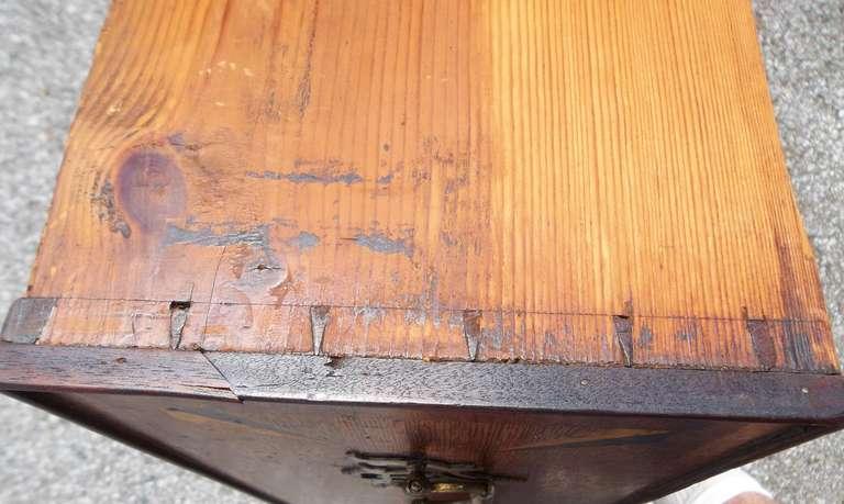 Welsh or English Inlaid Oak Dresser Base Sideboard With Mahogany Banding  4