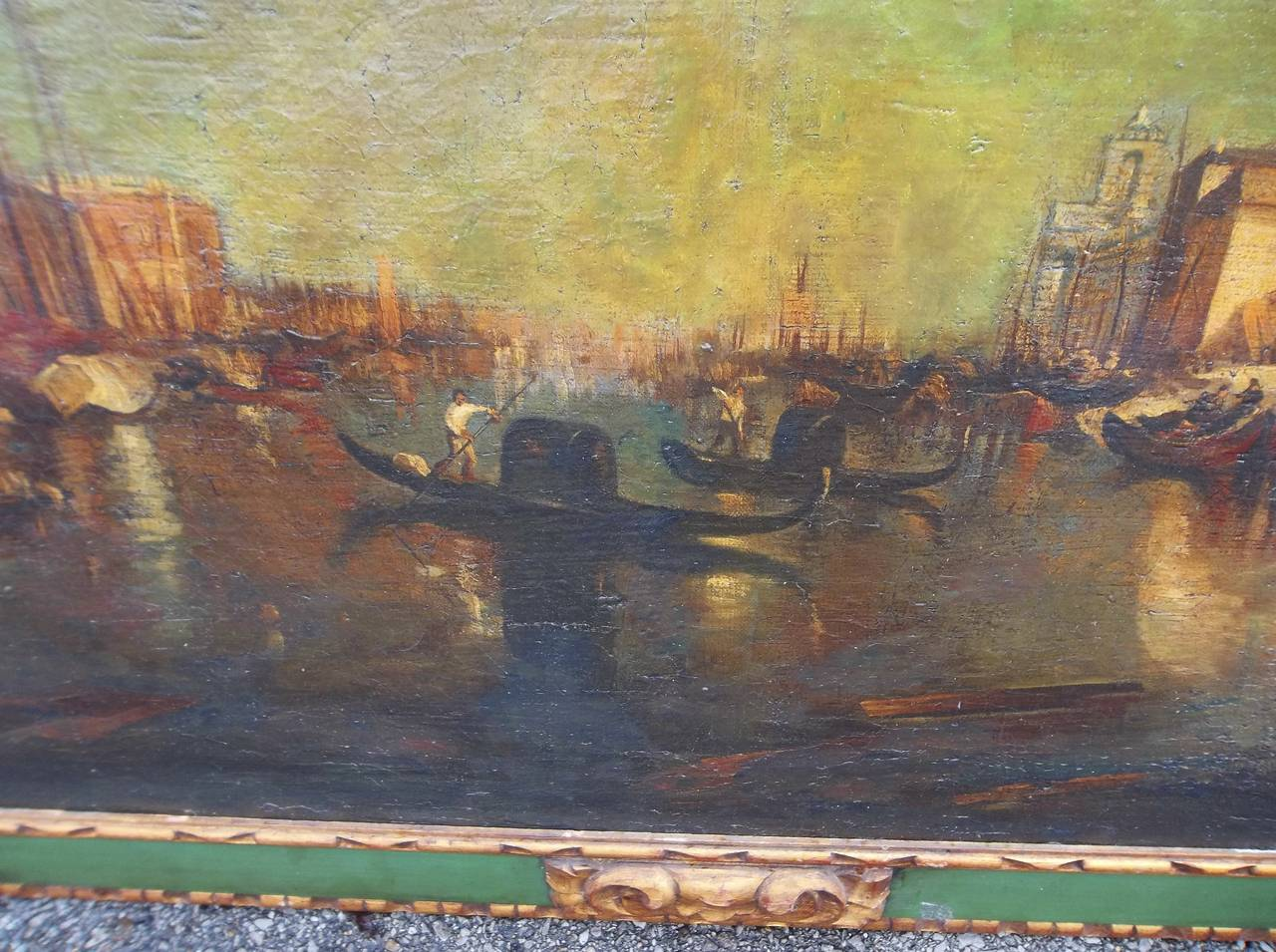 Early 20th Century Manner of J.M.W Turner, Venice Scene of the Grand Canal Painting For Sale