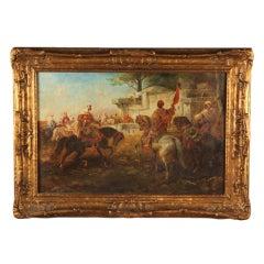 19th c. Orientalist Painting, style of Schreyer