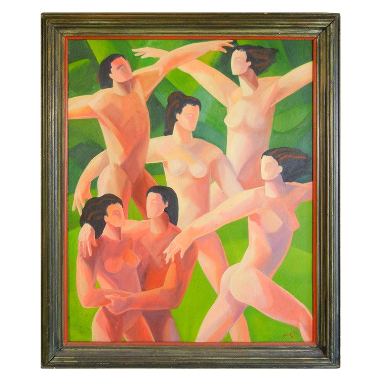 The Dancers by Young