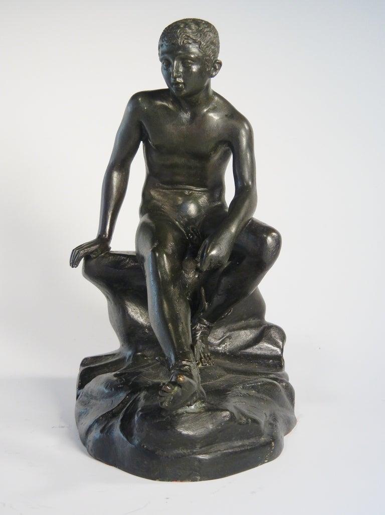 Classical Greek Grand Tour Souvenir Table-Top Bronze